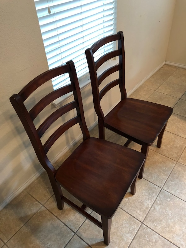 Used Wood Chairs Last Day Buy Before Move For Sale In