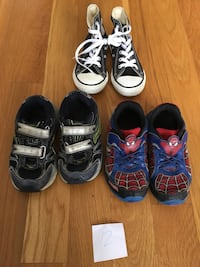 toddler's three pairs of shoes Nolensville, 37135