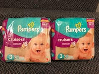 Pampers cruisers diapers size 3 North Potomac, 20878