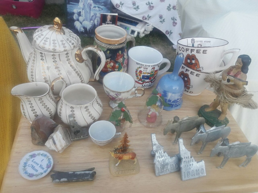christmas village miniatures, used for sale  Newport
