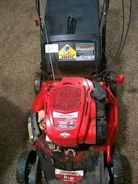 red and black Troy-Bilt push mower Germantown, 20874