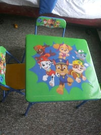 Toddler chairs and table Vicksburg, 49097