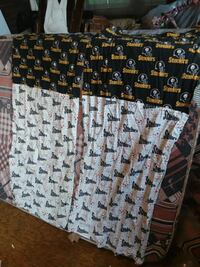 2 pc Steelers curtains New Castle, 16101