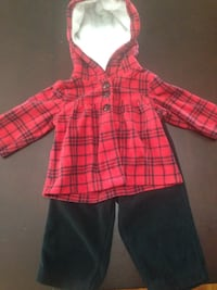 Red and back flannel Windsor