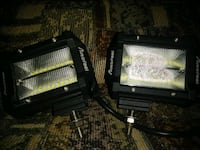 """4"""" Amber/White Stroboflash LED Off Road Lughts McMinnville, 37110"""