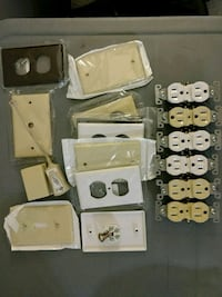 New Switch plates, receptacle covers, plugs Toronto, M9R 1B9