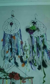 two multicolored dream catchers Rock Spring