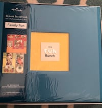 Themed scrapbook with extra matching pages Arlington