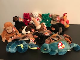 Click to see details on beanie baby group