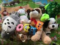 Stuffed animal toys. Firm price. MEET UP. Location in southwest Las Vegas, 89113
