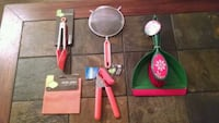New-Kitchen Utensils & Dustpan with Brush Metairie, 70002
