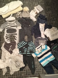 baby's assorted clothes Winnipeg, R2C 1M9