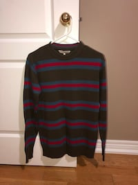 black and purple striped sweater Toronto, M6N 3G9