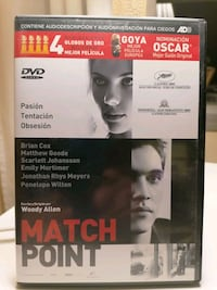 PELICULA EN DVD MATCH POINT Madrid, 28034
