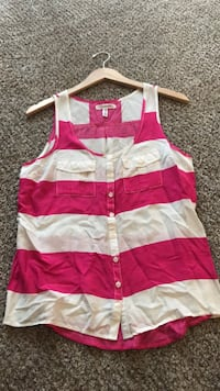 pink and white striped tank top Kennewick, 99336