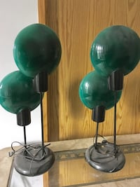 Retro lamps  fantastic pieces but doesn't fit our new home.. Surrey, V3R 7S7