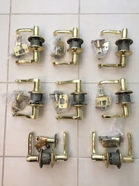 assorted stainless steel faucet lot Woodbine, 21797