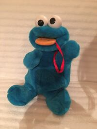 Stuffed Plush Cookie Monster—Chomps Cookie—IN PERFECT CONDITION Vienna, 22180