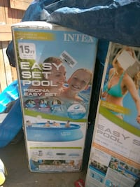 New easy set pool 15×42in $140  West Valley City, 84119