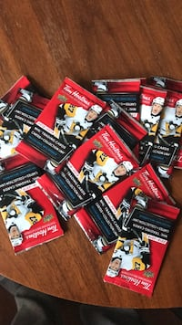 Tim Hortons 2018-19 trading cards (Online Pin Codes) ONLY Oshawa, L1H 7X6