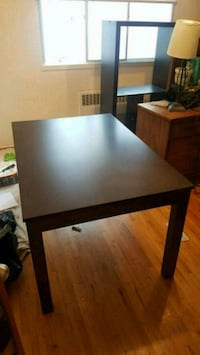 Wood dining room table - extendable  Vancouver, V6K 2E7
