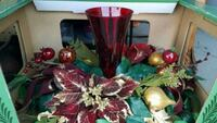 red and green artificial flower decor Wildomar, 92595