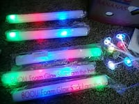 Party favors Five changing glow sticks South Bend, 46615