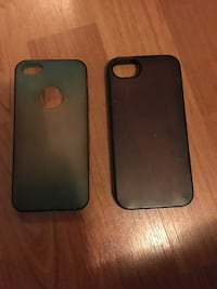 Two iPhone cases.