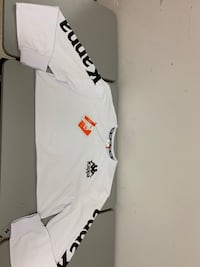 KAPPA black and white long sleeve  Central Islip