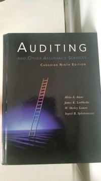 Auditing Canadian ninth edition