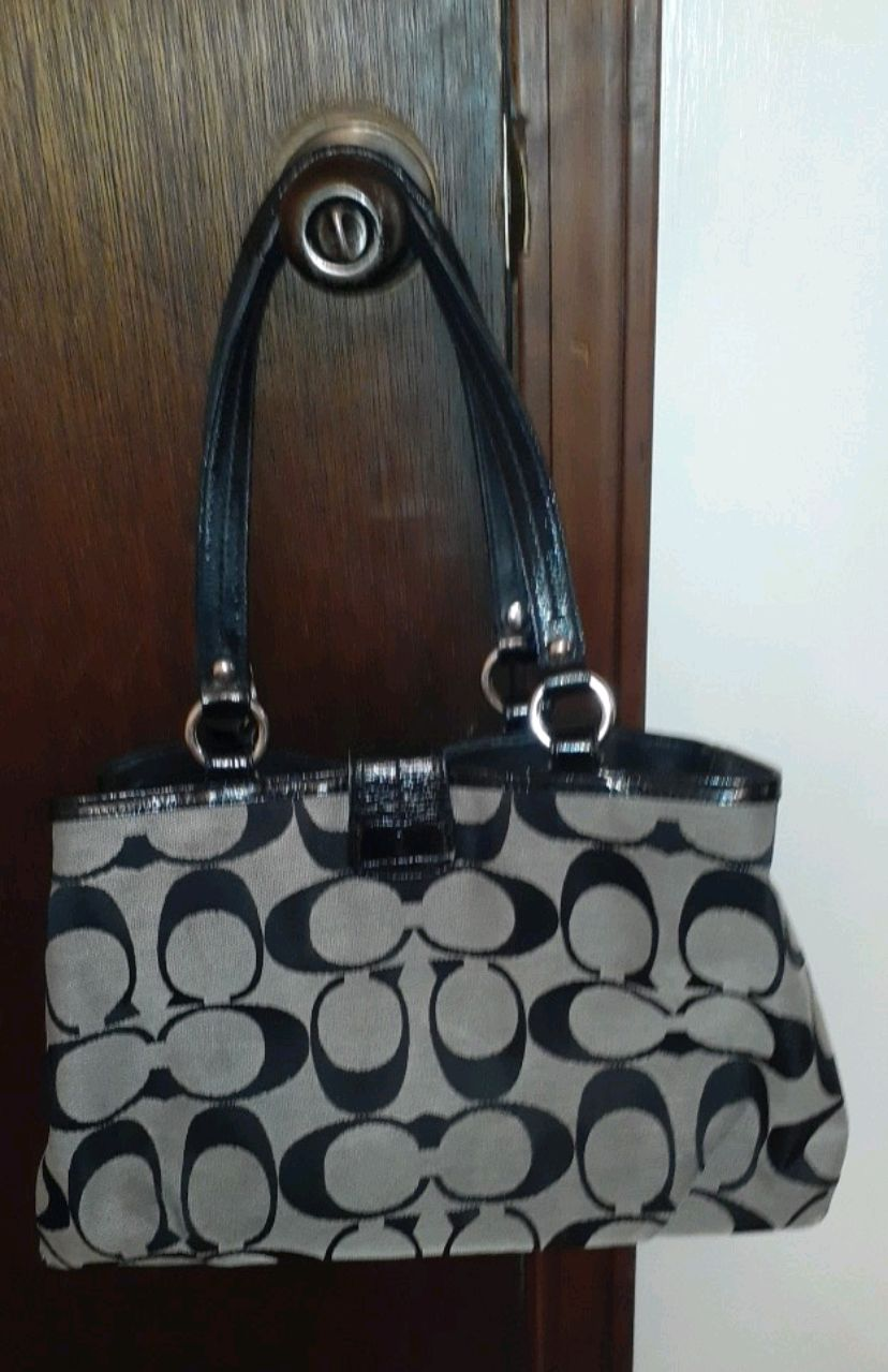 Photo Coach Purse
