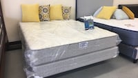 Queen mattress box spring set sale!! North Highlands, 95660