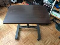 rectangular black wooden coffee table Toronto, M1V
