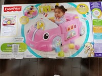 Fisher-Price Laugh & Learn Crawl around Car Girl Edition Milton
