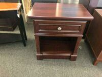Palla Nightstand, Cherry (only have 1) Houston, 77092