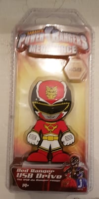 Brand new Power Rangers 4GB Red Ranger USB Drive Brampton