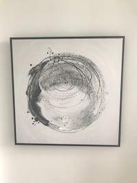 Modern Abstract Framed Art Puslinch, N1H