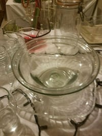 Glass serving bowls Bowie, 20720