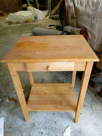 "End table with drawer 18""w, 15""d, 25""h"