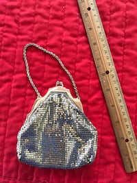 Whitney-Davis sterling silver mesh bag