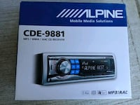 Brand new in box, sealed, Alpine Car cd mp3 player Surrey
