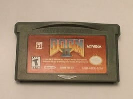 Doom II 2 GBA Gameboy Advance Authentic Tested