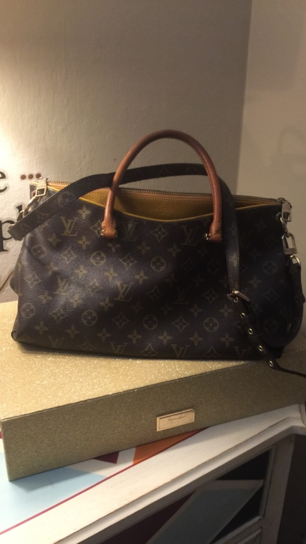 2e74db8333b6 Used Black leather louis vuitton tote bag for sale in Redwood City - letgo