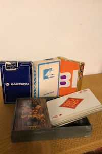 Collection of antique playing cards