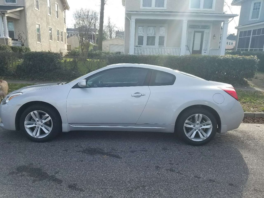 2012 Nissan Altima Silver Coupe In Chester