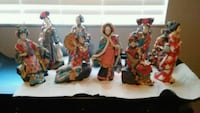 Chinese Asian statues $19 each beautiful North Port, 34286