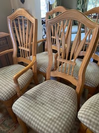 Dining room chairs (6) Bloomfield, 07003