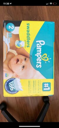 Pampers Swaddlers disposable diaper box Windsor, N8W 3C3
