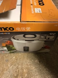 Winco electric rice cooker 30 cup dry