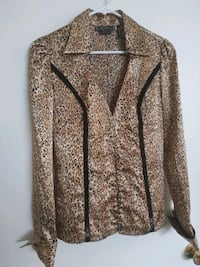 Guess leopard print blouse Los Angeles, 91324